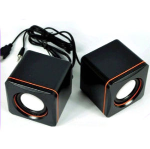 Home Use Portable USB 2.0 Speaker with Logo Brand Printed (6030)