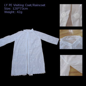 Ly Full Length Disposable PE Raincoat pictures & photos