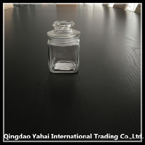 110ml Food Glass Storage Bottle with Glass Lid pictures & photos