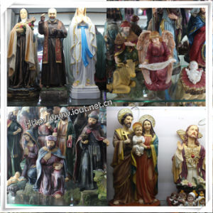 Factory Custom High Quality Poly Resin Religious Nativity Family Statues, Resin Nativity Set Catholic Religious Statues (IO-ca_samples) pictures & photos