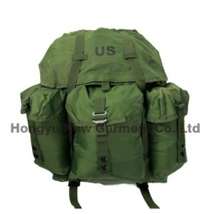 Us Green Color Tactical Military Backpack Molle Camouflage (HY-B092)