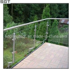 Low Iron Toughened/Tempered Glass for Balustrates pictures & photos