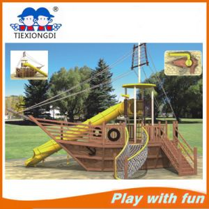 New Style Wood Park and Childern Outdoor Playground pictures & photos