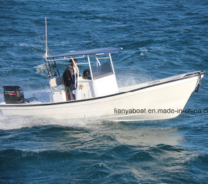 Liya 5.8m Panga Boat Fiberglass Fishing Boat with Outboard Engine pictures & photos