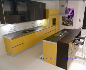 L Shape Modular Kitchen Cabinet Color Combinations