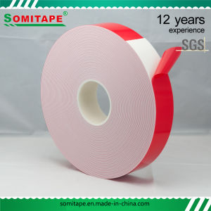 Heat Resistant PE Foam Double Sided Tape for Outdoor and Indoor Advertising Application pictures & photos