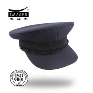 Dark Blue Custom-Made Plain Style Army Hats for Men pictures & photos