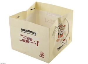 2016 Customized Fashion Food Grade Kraft Paper Bag for Cake pictures & photos