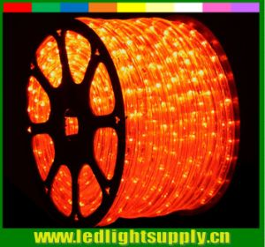 "150′ Orange LED Rope Lights 2 Wire 1/2"" 12 Volt"