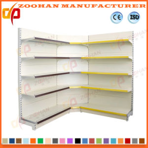 Supermarket Inner Corner Display Store Shelf (ZHs639) pictures & photos