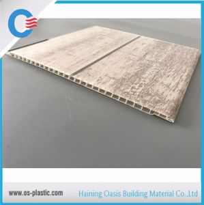 Marvelous Slab Hot Stamping Decorative PVC Ceiling Panel 7mm Thickness For Ceiling  And Wall