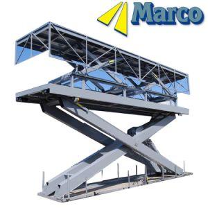 China Stationary Stage Hydraulic Scissor Lift Platform for