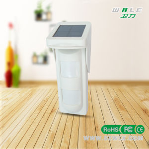 Wireless Intelligent Outdoor Infrared Motion Detector with Solar Power (WL-828W) pictures & photos