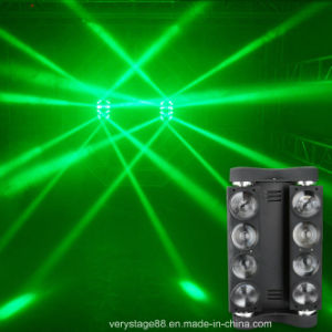 8X10W RGBW LED Spider Beam Moving Head Light pictures & photos