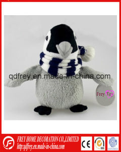 Lovely Pink Plush Penguin Toy for Christmas Day pictures & photos