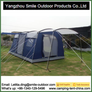 Big Tunnel Waterproof 8-10 Person Extra Large Camping Tent pictures & photos