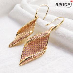 Modern For Female Zircon Gold Plated