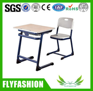 Used High Quality Single School Desk and Chair (SF-29S) pictures & photos