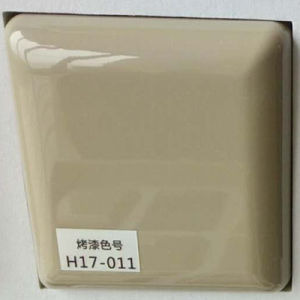 Champagne Color Lacquer Kitchen Cabinet Door