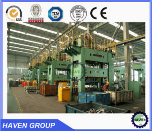 High qualified single action hydraulic stamping press machine pictures & photos
