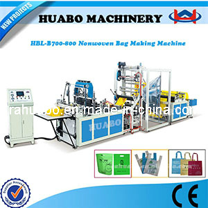 Automatic Nonwoven Bag Making Machine (HBL-B 600/700/800) pictures & photos