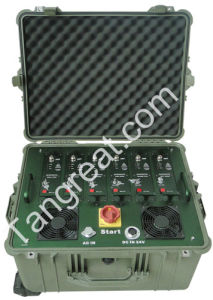 Tg-Multi Band Cell Phone WiFi GPS Portable Convoy Tactical Jammer (TG-VIP MB 1.0) pictures & photos