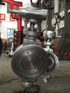JIS 10k Ss304 Butterfly Valve pictures & photos