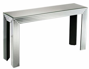 Console Table in Glass Mirrored Veneer pictures & photos
