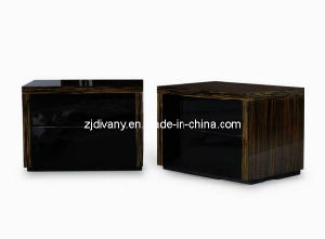 European Style Modern Bedroom Wooden Nightstand (SM-B09) pictures & photos