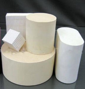 Honeycomb Ceramic Catalyst Substrate for Catalytic Converter pictures & photos