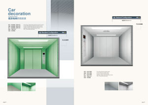 Fjzy-High Quality and Safety Freight Elevator Fjh-16001 pictures & photos