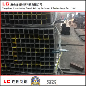 Black Annealed Rectangular Hollow Section Steel Pipe pictures & photos