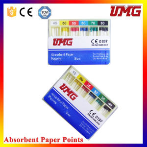 Dental Endo Paper Points Absorbent Sterilized # 15-40 pictures & photos