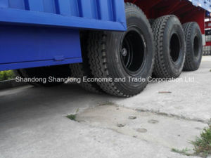 High Quality Side Wall Semi Trailer with 3 Axles pictures & photos
