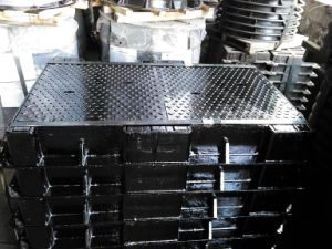 Ductile Cast Iron Manhole Covers for Telecom Project Usage