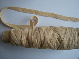 Soybean Protein Fiber Crochet Yarn - Tape Fancy Yarn pictures & photos