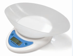 Plastic Kitchen Scale with Bowl (FK429-WH)