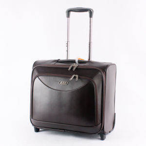PU Trolley Computer Carrying Case for 4-Wheels Cabin Luggage