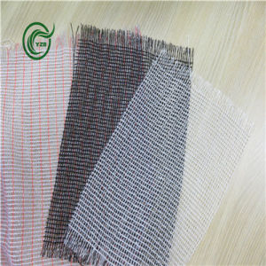 Sb3210 Woven Fabric PP Secondary Backing for Carpet (Green)