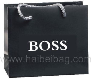 Promotional Paper Gift Bag, Brown Kraft Paper Bag, Shoe & Garment Carrier Bag, Boutique Suit Shopper Bag, Fashion Cosmetic Packing & Packaging Bag pictures & photos
