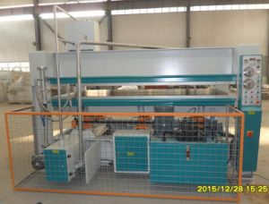 Vertical Feed Hot Press Machine
