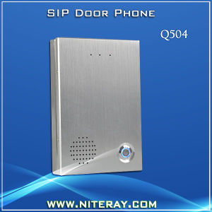 Apartment IP Door Phone Audio Door Phone with Access Control