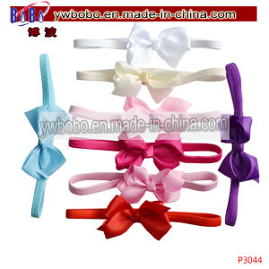 Bow Headband Hair Band Elastic Wedding Christening Party (P3044) pictures & photos
