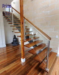 Awesome Wooden Staircases With Acacia Wood Stair Treads Pr L1106