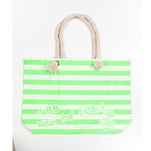 Canvas and Cotton Shopping Bag
