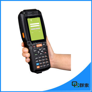 Portable 3G WiFi Bluetooth GPS Android Handheld PDA with Printer