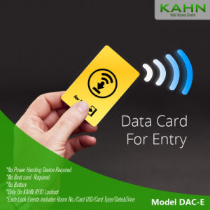 Hotel Door Lock Data Card for Entry