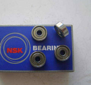 NSK Miniature Deep Groove Ball Bearings (608ZZ, 606ZZ, 626ZZ, 609ZZ) pictures & photos