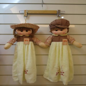 Home Decoration Cute Doll Hand Towel Kitchen Towel