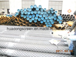 ASTM A53 6′′ 5/8 4.5mm Thickness Bridge Slotted Filter Pipe pictures & photos